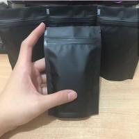 standing pouch hitam doff 10x16