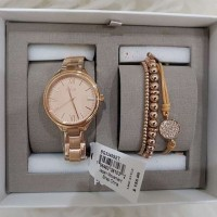 jam Fossil BQ3349 Ladies Gift Set Rosegols Original