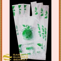Plastik Kemasan Kresek Thank You - Degradable Bag - 15cm