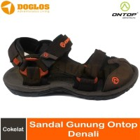 Sandal Gunung Wanita On Top Malona Outdoor Hiking Traveling Coklat