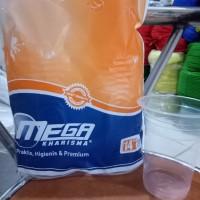 Plastik Cup PET 14 oz Mega / Gelas Plastik PET 14 oz POLOS,bening
