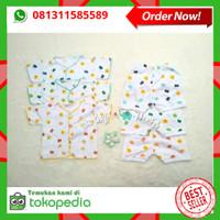 3 pasang Baju Bayi Lengan Pendek dan Celana Pendek Bayi Shankusen