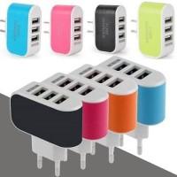 Adapter Smart Charger Batok 3USB 3 USB Casan 3A 3 A Ampere