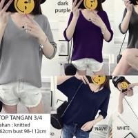 Baju Atasan Wanita Blouse Wanita Korea Putih Terbaru