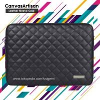 Sleeve Case Laptop 14 Inch Canvas Artisan Hitam
