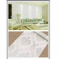 Wallpaper Sticker Dinding 10M x 45Cm