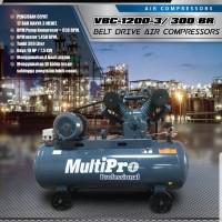 Kompresor Listrik 10 Hp 3 phase Multipro VBC 1200-3 / VBC1200-3