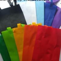 Tas Kain Spunbond Lipat Samping 38 x 45 x 8 Murah Furing Goodie Bag