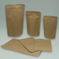 kemasan kopi 250 gram ecopack 13x20 standing pouch kertas paper kraft