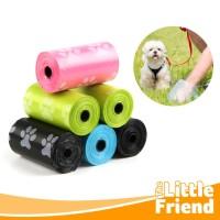 Kantong Plastik Sampah Refill utk Buang Poop/Pup Kotoran Anjing/Kucing