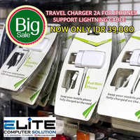 PROMO !!! Charger 2A for iphone 5 support lightning cable