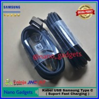 Fast Charging Kabel Data Samsung Galaxy S9 S9 Plus USB Type C Original