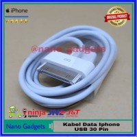 Fast Charger Kabel Data Iphone 4 4G 4S 3GS Ipad 1 2 3 Ipod Touch OEM
