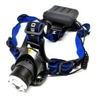 Promo!! Headlamp Led Cree Lampu Senter Ikat Body Kepala Malam Berburu