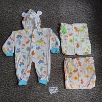 """KD52 Sleepsuit Bayi Buka dan Tutup Kaki NJC Baju Kodok Piyama Bayi"""""""