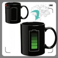 Magic Mug Cangkir Gelas Sensitif Suhu Motif Charging Unik Lucu
