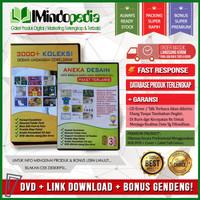 DVD Undangan Nikah 3000+ & Aneka Desain Campuran | Solusi Desain Cetak
