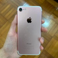 Iphone 7 Rose Gold - 128GB (Jual cepat banting harga)