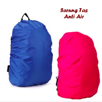 Rain Coat cover Bag - Sarung Tas Ransel Anti Air Hujan Waterproof