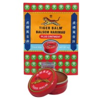 Tiger Balm Red Ointment For Reliable Pain Relief - Balsem Tiger Balm
