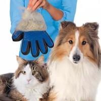 Sarung Tangan Sikat Grooming - Sisir Mandi Kucing Anjing Pet Grooming