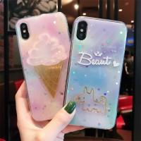 Casing Soft Case untuk iPhone 6 / 6S / 7 / 8 Plus / X Berkualitas