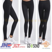 celana legging import polos tebal all size fit to XXL