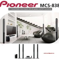 Pioneer MCS 838 paket bluray 5.1 home theater speaker pasif sln jbl