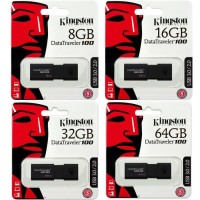 Original Kingston Flashdisk 32GB DT100 G3 USB 3.0 Garansi Resmi