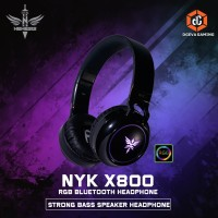 NYK X800 RGB Bluetooth Gaming Headset With Mic