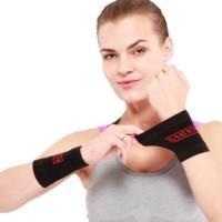 Aolikes 1Pair Sports Wrist Band Wrist Support Brace Sweatband Guard