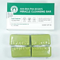 1/6 Bar Some By Mi Miracle Cleansing Bar AHA BHA PHA | Share