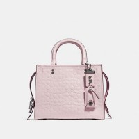 PO 15/12/18 - Coach Rogue 25 Sign With Floral Bow Interior Pink