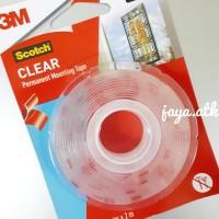 3M Scotch Double Foam/Double Tape VHB Mounting Transparan 4010