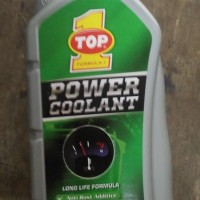 Air Radiator Power Coolant Top One Hijau 1 Liter PROMO