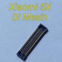 Konektor Lcd Xiaomi 5X Mi A1 di Mesin 40 pin Fpc Display Lcd Xiaomi 5X