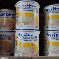 Cat Tembok Avitex 5 KG Ready Mix Gosend Only