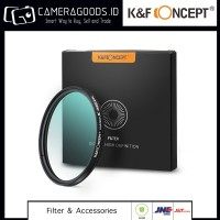 High Quality K&F CPL Filter Nano X 77mm - German Schott Optic Glass