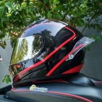 Helm RSV FFZERO Motif Red Line