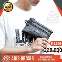 Dompet Kulit Pria Handbag Kecil Cluth Original Branded Termurah New