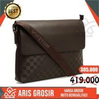 Tas Selempang Laptop Kulit Pria Waist Bag Asli chest Bag Premium New