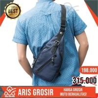 Tas Selempang Pria sling bag chest bag waist bag cowok import murah