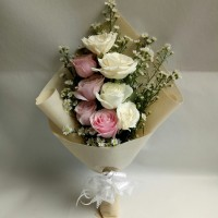 Buket bunga mawar asli | Buker hari ibu