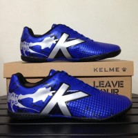 Sepatu Futsal Kelme Star Evo Royal Blue 1103003 Original