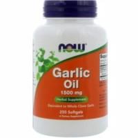 Now foods food garlic oil suplemen bawang putih 1500 mg 1500mg 100 sg