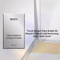 ertos sebum reducer compact powder