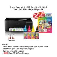 Printer Epson L3110 Tinta SUN Dura Ultra - Art Paper Ink