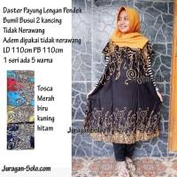 Daster Payung Monochrome Baju tidur Bumil Busui Batik Adem gak luntur