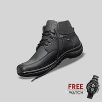 Sepatu Casual Pria S. Van Decka J-MZ10 Free Jam Tangan Sport