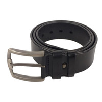 @VERSO Pin Leather Belt VR120026-BLK